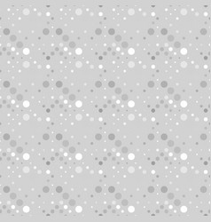 Grey seamless geometrical abstract dot pattern vector