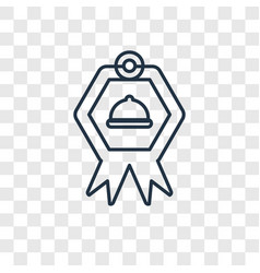guarantee concept linear icon isolated on vector image