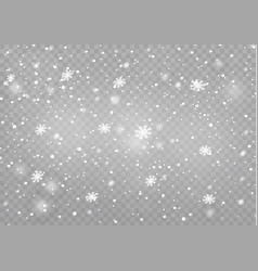 snow wind winter vector image