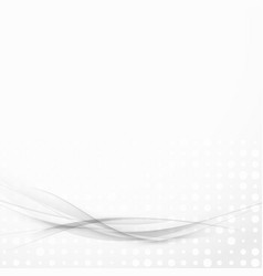 Transparent grey lines futuristic modern layout vector