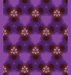 Winter geometric daisy dye flower background vector