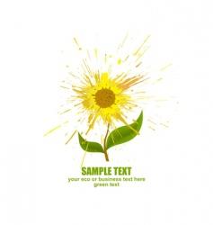 flower concept vector image