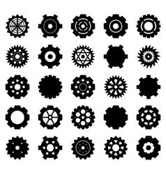 Gear set vector image vector image