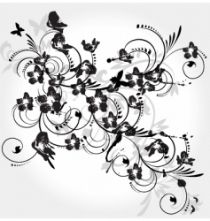 grunge nature vector image