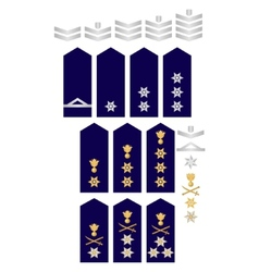Insignia of the Greek Police vector image vector image
