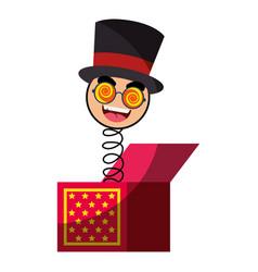 joke box icon vector image