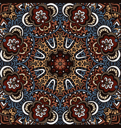 abstract ethnic mandala pattern vector image