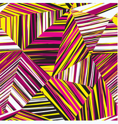 Abstract geometric seamless pattern chaotic vector