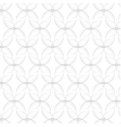 Abstract pattern seamless white texture floral vector