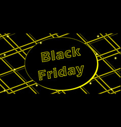 Black friday sale banner holiday and peak vector