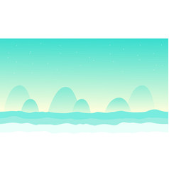 Collection desert for game background vector