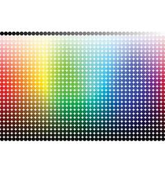 Color pallet spectrum vector