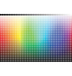 color pallete spectrum vector image