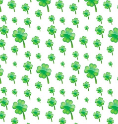 green plant pattern vector image
