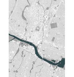 Map city austin texas usa vector