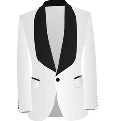 men modern tuxedo vector image