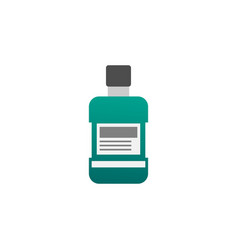 mouthwash graphic design template vector image