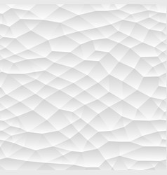 seamless polygonal mosaic gradient texture white vector image