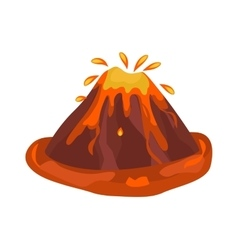 Eruption vector image