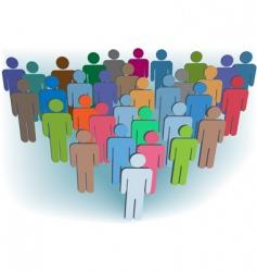 business organization vector image