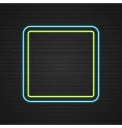 Retro showtime sign design neon signage light vector