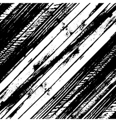 Traced black and white wood grain abstract vector image