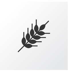 wheat icon symbol premium quality isolated grain vector image