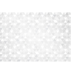 abstract background with grey glowing triangles vector image