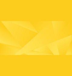 abstract yellow low polygon background and texture vector image