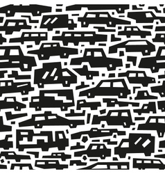 cars motion - seamless background vector image