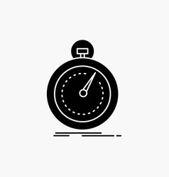 Done fast optimization speed sport glyph icon vector