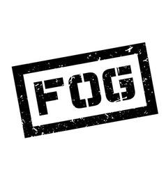Fog rubber stamp vector image