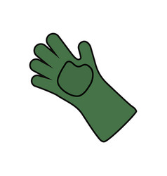 Garden glove vector