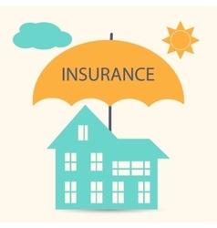 House insurance vector