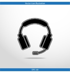icon of support vector image