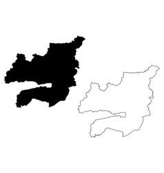 Kocaeli map vector
