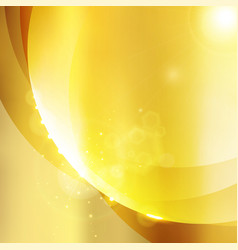 luxury shining gold color background with sparkle vector image