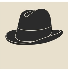 Tweed hat label vector image