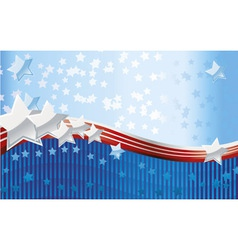 american style background vector image vector image