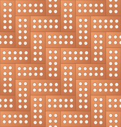 Brick pattern background vector image