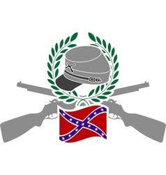 Glory of Confederacy vector image