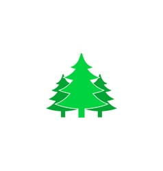 Forest Icon vector image vector image