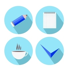 To-Do List Icons vector image