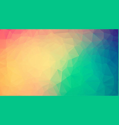 abstract polygon background of modern abstract vector image