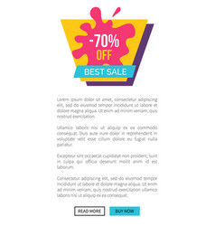 best sale 70 off sticker of purple and pink colors vector image