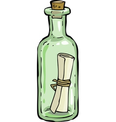 Bottle vector image vector image