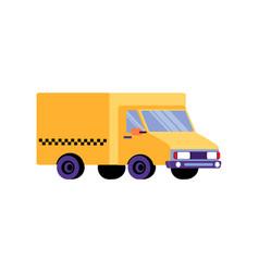 cargo taxi icon vector image