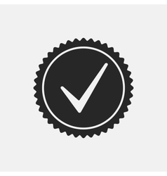 Check Mark Stamp vector