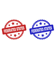Federated states rosette seals using distress vector