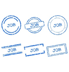 Job stamps vector image